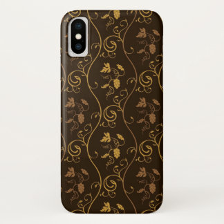 Coque iPhone X Décor de raisins