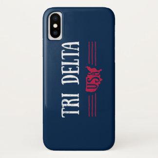 Coque iPhone X Delta   Etats-Unis de delta de delta