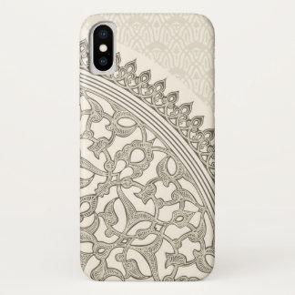 Coque iPhone X Dentelle Arabe de style