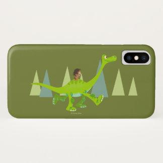 Coque iPhone X Dessin de tache montant Arlo