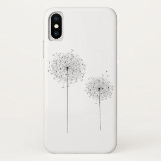 Coque iPhone X Deux pissenlits