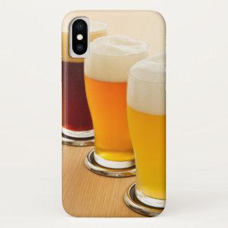 Coque iPhone X Différents types de bière