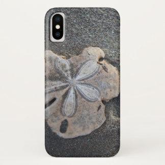 Coque iPhone X Dollar de sable sur le sable