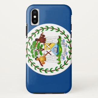 Coque iPhone X Drapeau de Belize