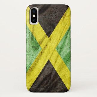 Coque iPhone X Drapeau de la Jamaïque
