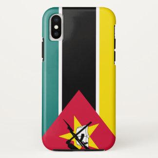 Coque iPhone X Drapeau de la Mozambique