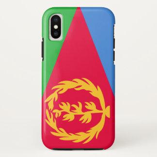 Coque iPhone X Drapeau de l'Érythrée