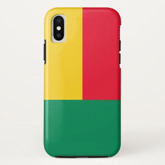 Coque iPhone X Drapeau du Bénin