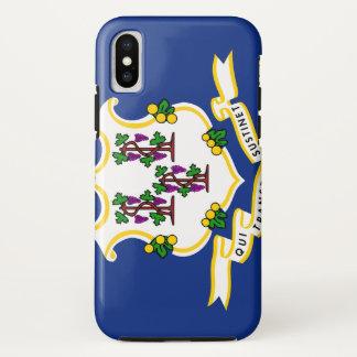 COQUE iPhone X   DRAPEAU DU CONNECTICUT