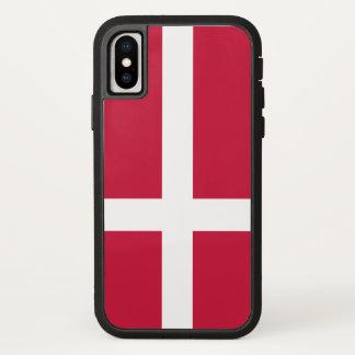 Coque iPhone X Drapeau du Danemark