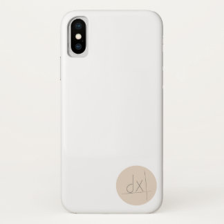 Coque iPhone X driveX de la couverture | d'iPhoneX