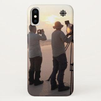 Coque iPhone X Dunes de sable d'Athabasca