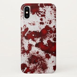 Coque iPhone X Éclaboussure de sang de Falln