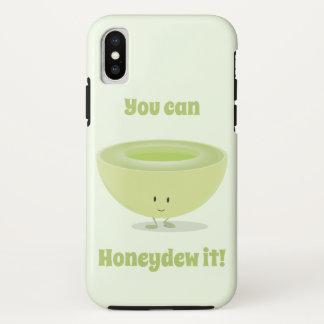 Coque iPhone X Encouragement | de miellée