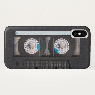 Coque iPhone X Enregistreur à cassettes