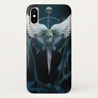 Coque iPhone X Épée du fléau de l'ange du cas V2 de téléphone de