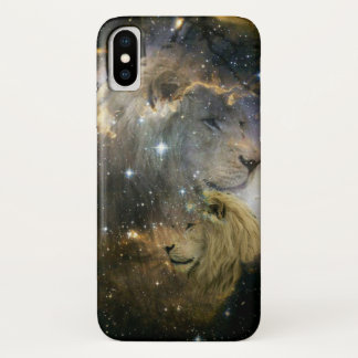 Coque iPhone X Explorez la galaxie avec le courage