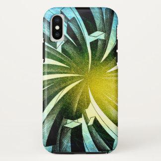 Coque iPhone X Feux d'artifice Spacial - cas de l'iPhone X