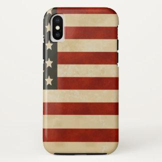 Coque iPhone X Fier d'être américain