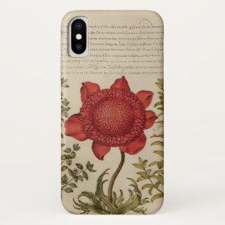 Coque iPhone X Fleurs (appliquez la conception à d'autres cas de