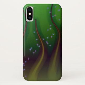 Coque iPhone X Forêt cosmique