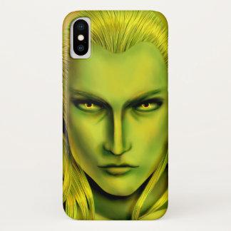 Coque iPhone X Forêt masculine Elf de Falln