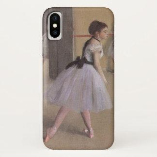 Coque iPhone X Foyer de danse à l'opéra par Edgar Degas