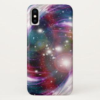 Coque iPhone X Galaxie et nébuleuse d'Orion