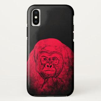 Coque iPhone X Gorille futé
