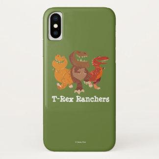 Coque iPhone X Graphique de groupe de propriétaire d'un ranch