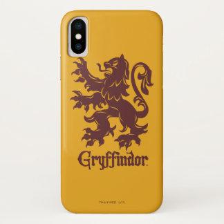 Coque iPhone X Graphique de lion de Harry Potter | Gryffindor