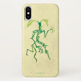 Coque iPhone X Graphique de typographie de Bowtruckle