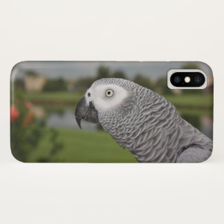 Coque iPhone X Gris africain Lakeside