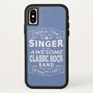 Coque iPhone X Groupe de rock classique impressionnant de