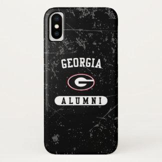 Coque iPhone X Grunge des anciennes élèves   de la Géorgie