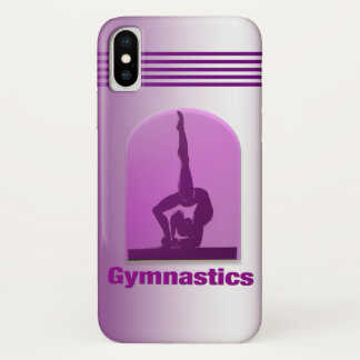Coque iPhone X Gymnastique #11