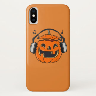Coque iPhone X Halloween music