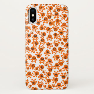 Coque iPhone X Halloween texture
