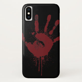 Coque iPhone X handprint