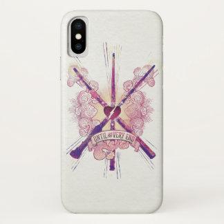 Coque iPhone X Harry Potter | jusqu'à la fin