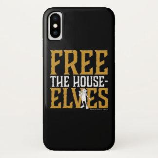 Coque iPhone X Harry Potter | librement les elfes de Chambre