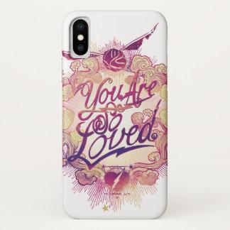 Coque iPhone X Harry Potter | vous êtes ainsi aimé