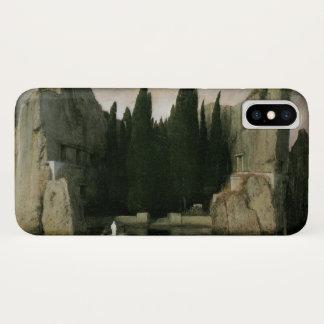Coque iPhone X Île des morts par Arnold Bocklin, art de
