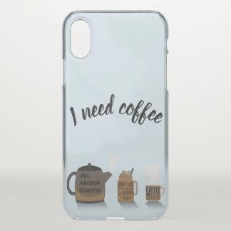 Coque iPhone X Illustration de café par Syahikmah