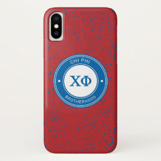 Coque iPhone X Insigne du phi | de Chi