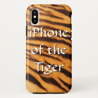 Coque iPhone X iPhone du tigre
