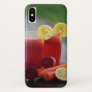 Coque iPhone X iPhone X, cas d'Apple de limonade