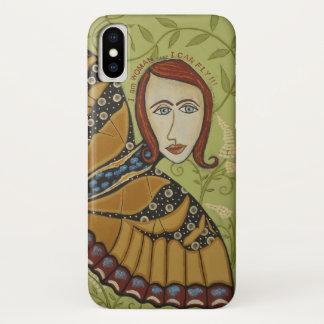 Coque iPhone X iPhone X - Je suis femme/papillon