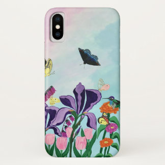 Coque iPhone X Jardin des plaisirs merveilleux