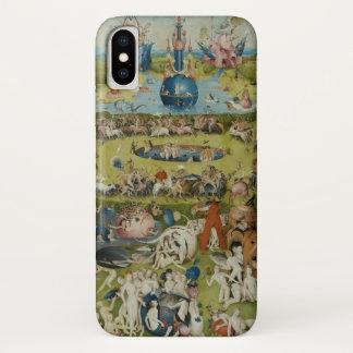 Coque iPhone X Jardin des plaisirs terrestres, 1490-1500